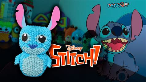 3d origami stitch tutorial stitch 3d origami peke 241 o youtube