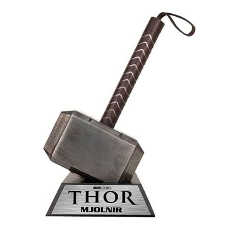 thor mjolnir hammer of thor prop replica museum replicas