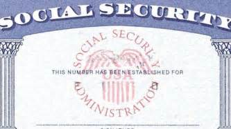 Social Security Card Template by Social Security Card Template Wordscrawl