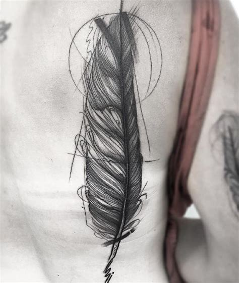 tattoo feather sketch 30 fabulous feather tattoos for only the most discerning