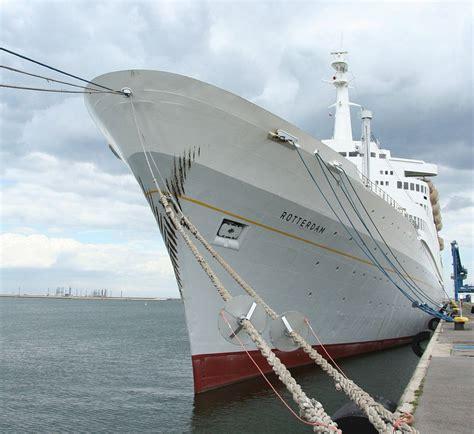 schepen in rotterdam 187 het ss rotterdam de titanic van woonbron