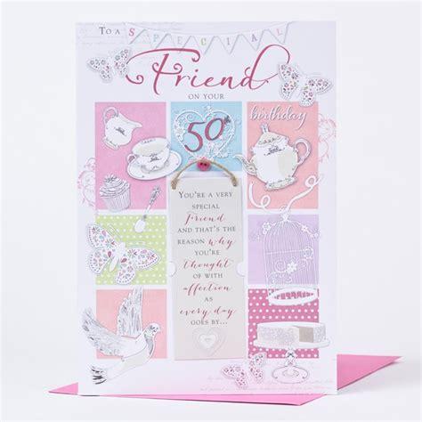 Best Friend 50th Birthday Card 50th Birthday Card Special Friend Only 163 1 49
