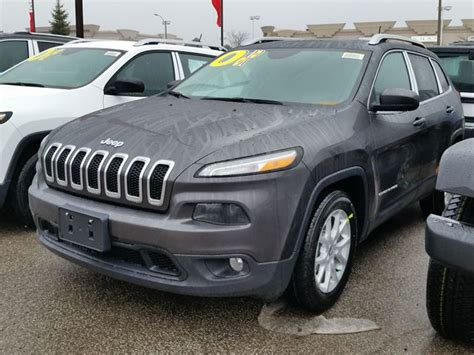 2016 Jeep Cherokee North 4x2 Dark Grey Vaughan Chrysler