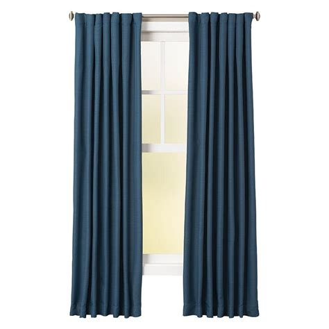54 x 95 curtains home decorators collection indigo room darkening back tab