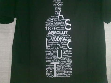 Kaos T Shirt Vodka mei 2011 belajar komputer