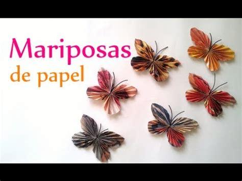 mariposas hechas de papel crepe you tub manualidades c 243 mo hacer mariposas de papel innova