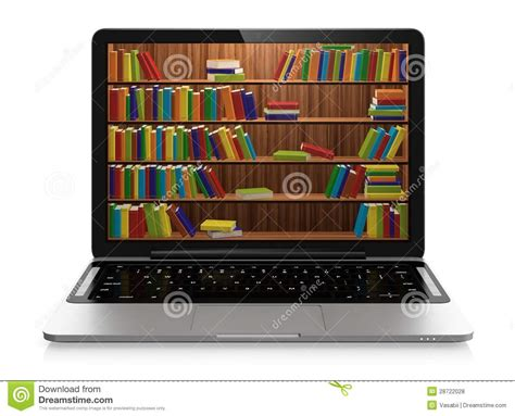 electronic picture book electronic library royalty free stock photos image 28722028