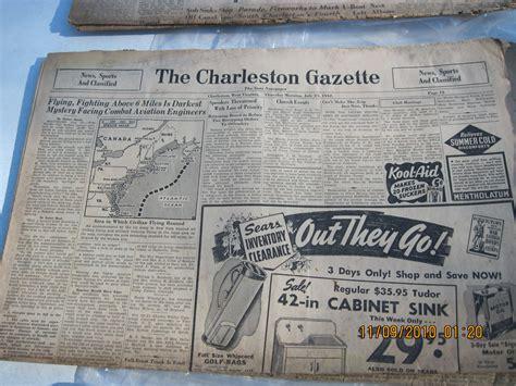 the charleston gazette charleston gazette for sale antiques com classifieds