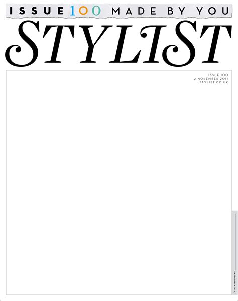 fashion magazine covers template www imgkid com the
