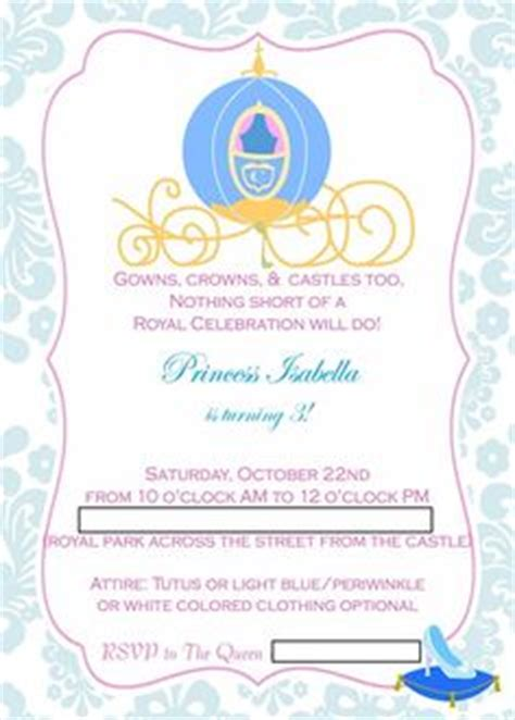 1000 ideas about cinderella invitations on pinterest