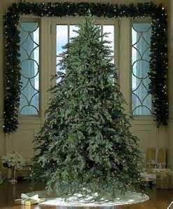 best artificial trees with lights 7 5 downswept fir pre lit artificial