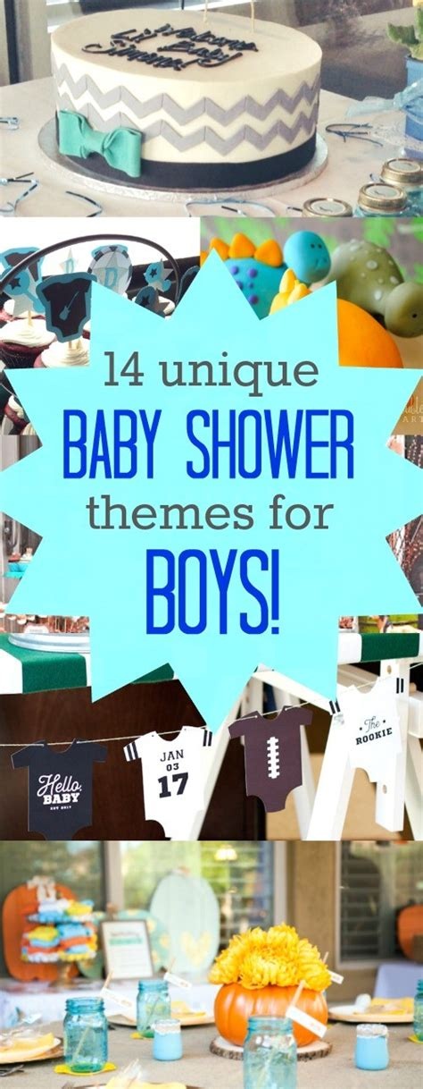 Unique Baby Shower Ideas For by 14 And Unique Baby Shower Themes For Boys