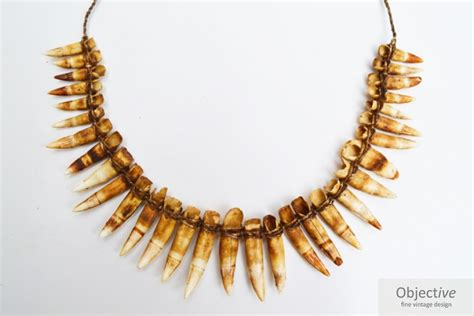 Tooth Necklace crocodile tooth necklace