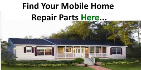 mobile home repair parts and how you can find them