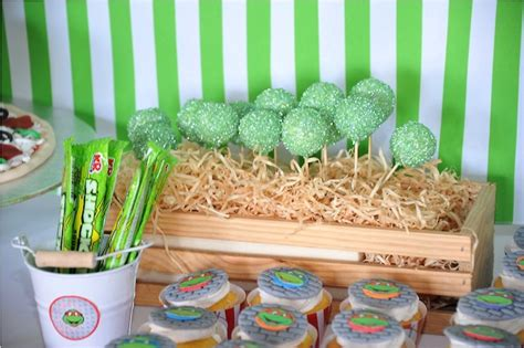Turtle Themed Birthday Supplies by Kara S Ideas Turtle Themed Birthday Via
