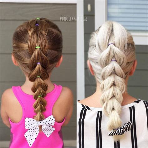 Hairstyles For Toddlers With Hair by Best 25 Toddler Hairstyles Ideas On Toddler