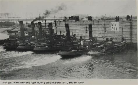 sleepboot walcheren over het sluiten van de walcherse dijkgaten