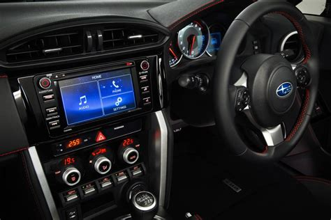 subaru interior 2017 subaru brz revised with more power and sharper handling