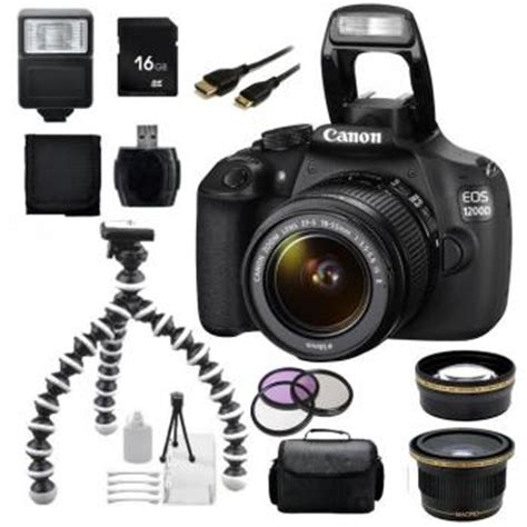canon eos 1200d/t5 dslr camera with 18 55 lens + accessory