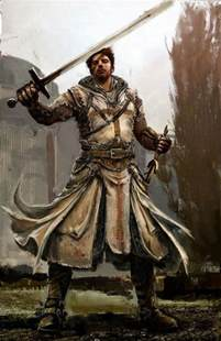 Knights Templat by Amazing Drawing Of A Templar With Sword In