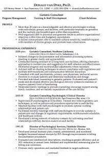 Best Resume Format Of 2014 by Chronological Resume Example Geriatric Consultant