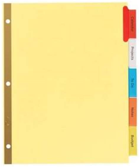 office depot divider templates avery worksaver big tab reinforced dividers 5 tab