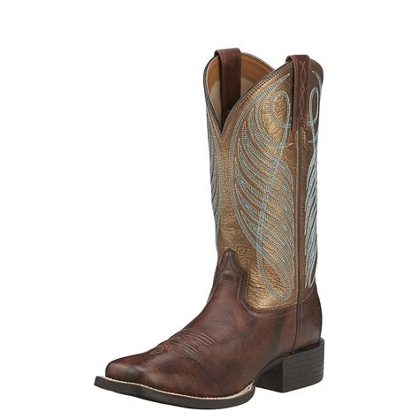 ariat s up wide square toe boot style 10016317
