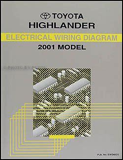 hayes auto repair manual 2001 toyota highlander transmission control 2001 2002 toyota highlander body collision repair shop manual original