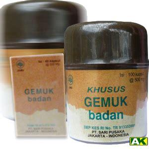 Sari Pusaka Ring 40 Kapsul herbal khusus gemuk badan toko herbal al khair