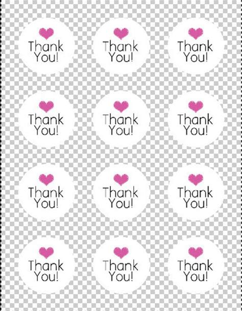 circle thank you card templates printable thank you sticker labels product labels thank