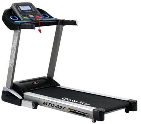 Electric Treadmill Auto Incline Speed 1 18 Km Ghnc 4830 Ob Fit gold 027