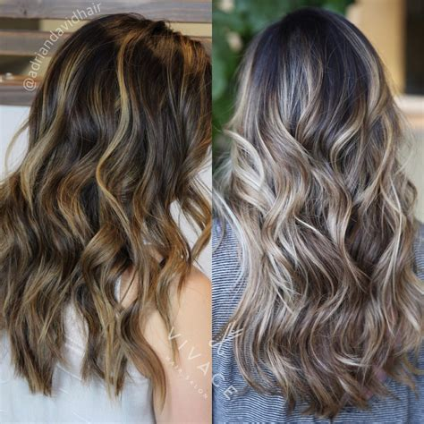 balayage highlights before and after home kit 15 balayage hair before after new arab women hairstyles