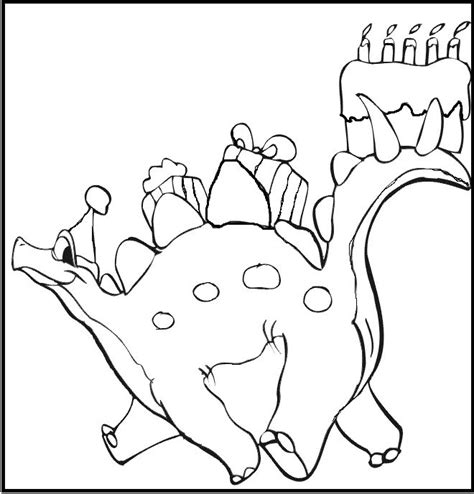 birthday dinosaur coloring page 1000 images about birthday on pinterest birthday cakes