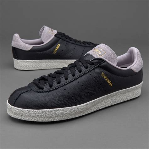 sepatu sneakers adidas originals topanga clean black