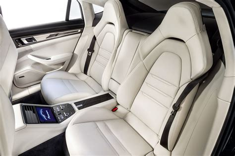 porsche panamera interior back seat 2017 porsche panamera first look review