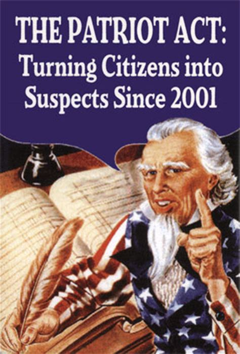 section 213 patriot act 10 years of the patriot act bait and switch for the drug