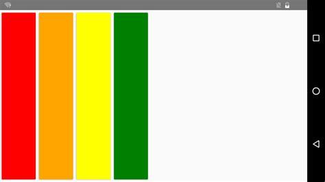 xaml horizontal layout project ace native ui layout
