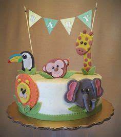 Baby Shower Cake Ideas For Unknown Gender by Zoo Baby Showers On Safari Baby Showers
