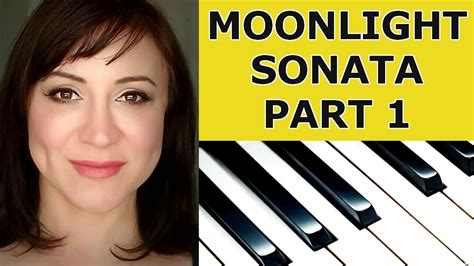 tutorial piano moonlight sonata beethoven moonlight sonata piano tutorial part 1 youtube