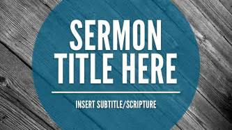 free sermon slide template the creative pastor