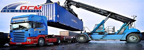 road freight transport companies and international air freight in