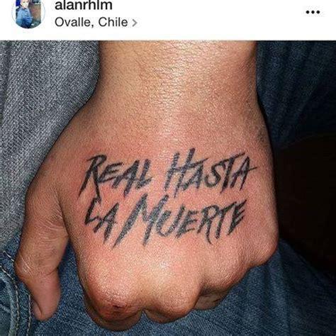 imagenes que digan real hasta la muerte fan 225 ticos de anuel aa con tatuajes de la frase real hasta