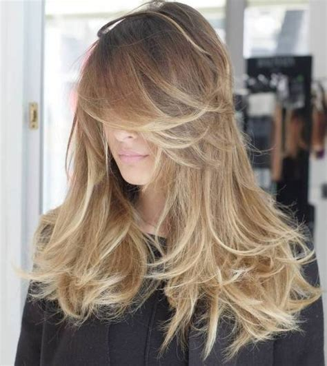 layering hair versus tapering hair 50 cute long layered haircuts with bangs 2017