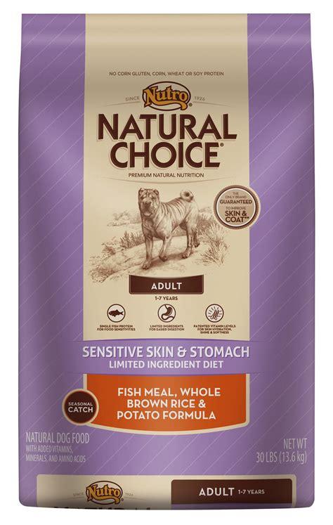sensitive stomach nutro choice sensitive skin and stomach food food petflow