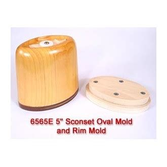 rent per month rental 5 inch sconset oval mold and mold per month