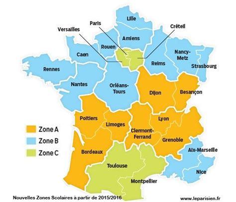 Zone Des Vacances Scolaires 2017 Calendrier Vacances Scolaires 2017 2018 Zone C Pratique