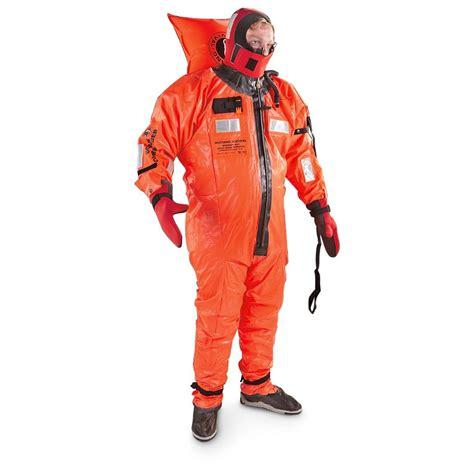 mustang survival 174 commander immersion survival suit
