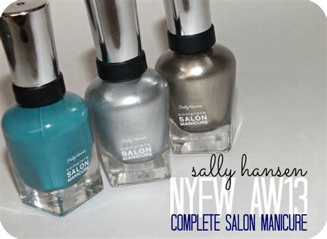 New Sally sally hansen complete salon manicure nyfw aw13 i