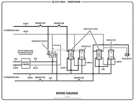 coleman 5500 watt generator wiring diagrams wiring diagram