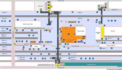Machine Shop Floor Plan by National Rail Enquiries